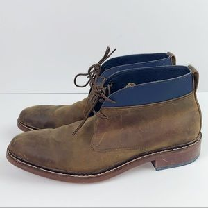 Cole Haan brown leather Colton chukka boot
